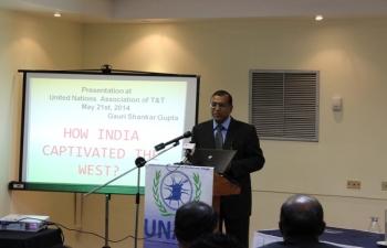 Presentation at United Nations Association of Trinidad & Tobago. May 21st,2014