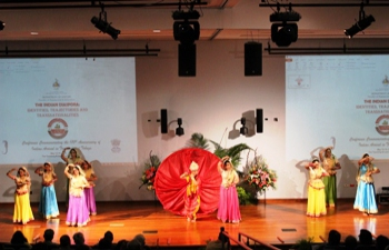 Cultural Evening at  the Indian Diaspora Conference 12-16 May 2015 to commemorate the 170th Anniversary of Indian Arrival in T&T