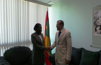 H.E. Gauri Shankar Gupta's Visit to Grenada 31 May - 02 June ,2015