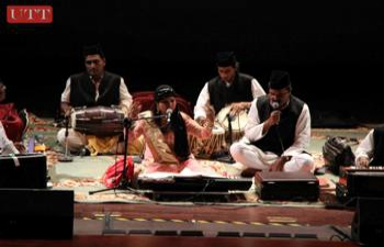 EMINENT QAWWALI EXPERT  MS. GEETA SINGH  AND GROUP FROM  INDIA  toured Trinidad from July 30 - August 5th 2015 ( A group sponsored by the Indian Council for Cultural Relations - ICCR, New Delhi, India)