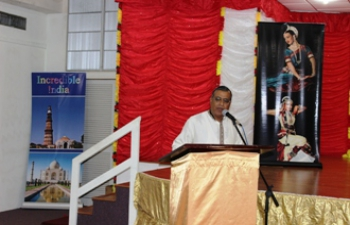 High Commission of India, Port of Spain and the  Mahatma Gandhi Institute of Cultural Co-operation organized an