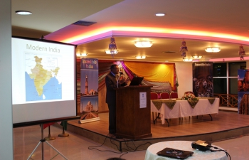 Indo�T&T Business Meet held on  Friday, 4th December  2015,  Plaza D Montrose organized by the  High Commission of India in collaboration with the Chaguanas Chamber of  Industry and Commerce.