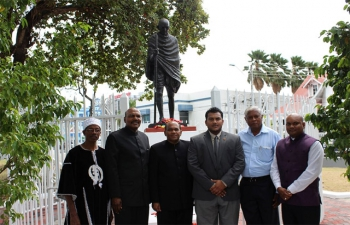 Observance of 68th Anniversary of Mahatma Gandhi's Martyrdom