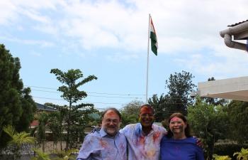 Holi Celebrations at India House 26-03-2016