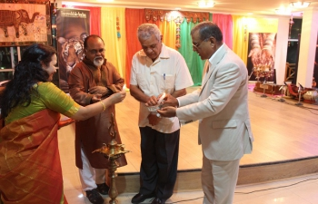Inauguration Ceremony of India Alumni Assoc. of T&T 31-03-16