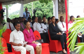 Launch of the ICT Centre in Dominica and Farewell for H.E. Gauri Shankar Gupta, June 2016