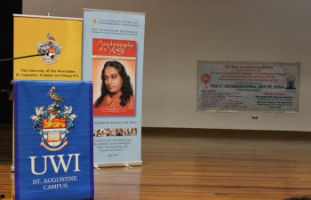 IDY 2016 The High Commission of India in Collaboration with The University of the West Indies, St. Augustine organized events on June 21st ,2016 at the Daaga Auditorium.