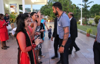 Reception for Indian Cricketers 16-08-2016