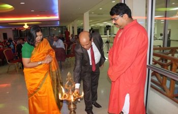The Mahatma Gandhi Institute for Cultural Co-operation held a Welcome Ceremony and Cultural Evening for H.E. Bishwadip Dey, High Commissioner of India at Plaza De Montrose on 14-10-2016