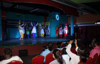 High Commission of India, Mahatma Gandhi Institute for Cultural Co-Operation in collaboration with the Ministry of Community Development, Culture and the Arts organized a performance by a 12 Member Asian Punjabi Bhangra Group from India at the Fun Splash Water Park, Debe.
