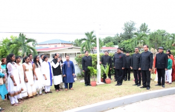Indias 70th Independence Day Flag Hoisting Ceremony