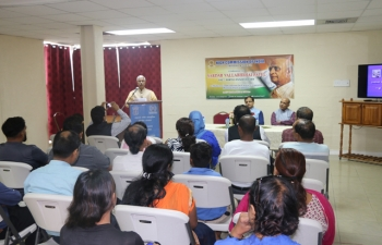 High Commission of India ,Port of Spain ,Trinidad and Tobago celebrated the 142nd Birth Anniversary of Sardar Vallabhai Patel at the Mahatma Gandhi Institute for Cultural Co-operation on 31st October, 2017