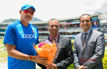 India's Cricket Team visits Trinidad & Tobago