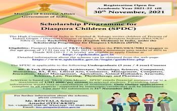 Scholarship Program for Diaspora Children (SPDC)